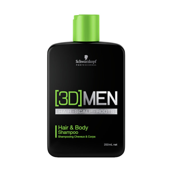 Schwarzkopf 3D Men Hair + Body Shampoo