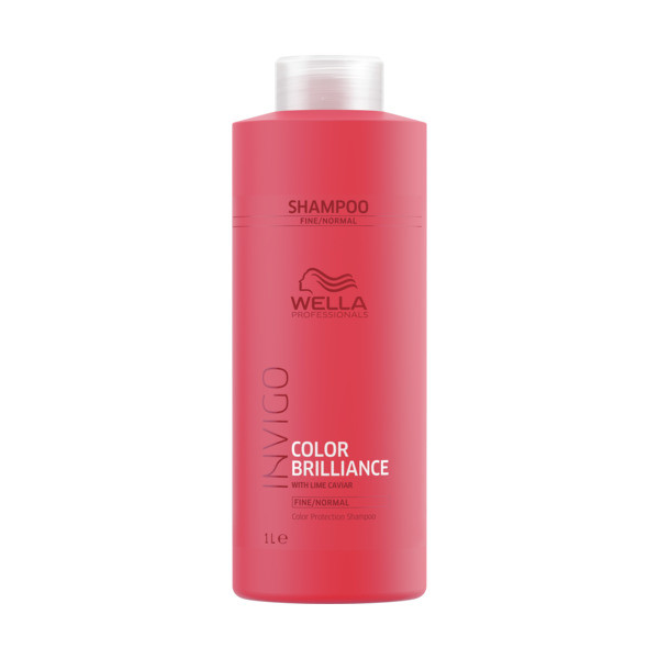 Wella INVIGO Brilliance Protection Shampoo fein/normal Kabinett