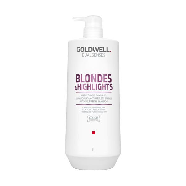 Goldwell Dualsenses Blondes & Highlights Anti Yellow Shampoo Kabinett