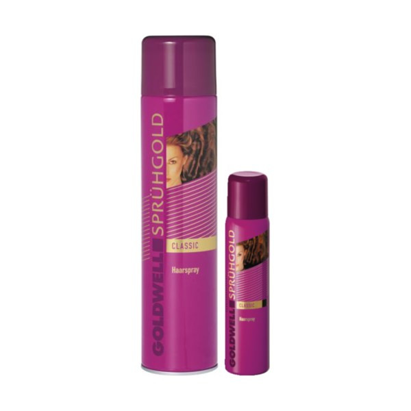 Goldwell Sprühgold Classic Haarspray 600ml + Mini 100ml