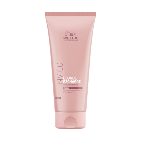 Wella INVIGO Color Recharge Warm Blonde Conditioner