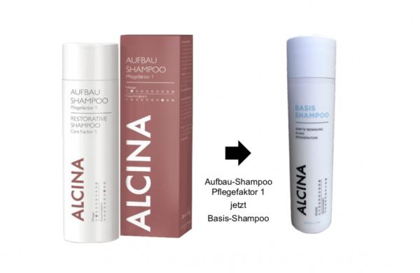 Alcina Aufbau-Shampoo Pflegefaktor 1 Jetzt Basis-Shampoo
