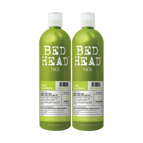 TIGI Bed Head Urban antidotes Re-Energize Tween Duo 2x750ml