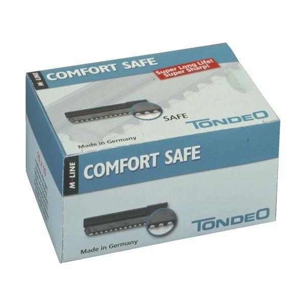 Tondeo Solingen Comfort Safe Klingen für Effilier-Arbeiten - Display