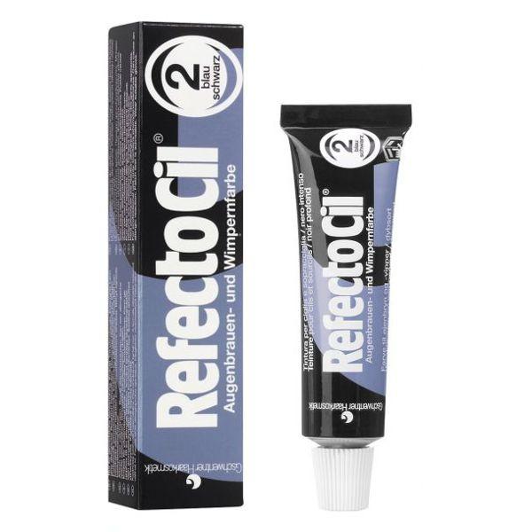 RefectoCil Augenbrauen- und Wimpernfarbe Nr. 2 Blauschwarz