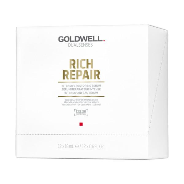 Goldwell Dualsenses Rich Repair Intensive Restoring Serum Display 18ml
