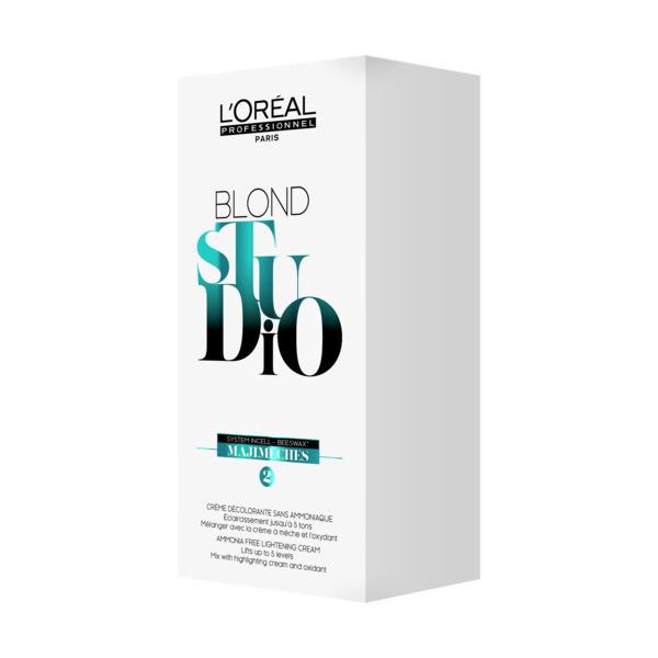 L'Oréal Blond Studio Majimeches 2 Aufhellender Balsam - Karton mit 25g Sachets