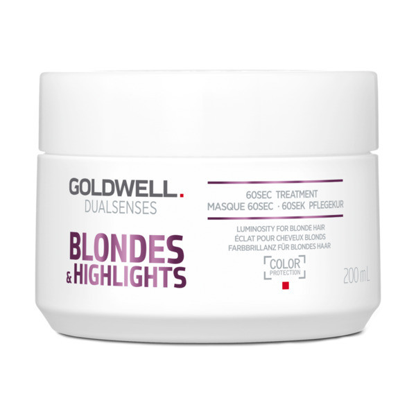 Goldwell Dualsenses Blondes & Highlights 60 sec Treatment Maske