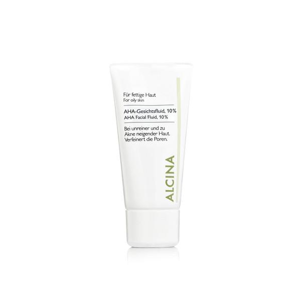 Alcina Kosmetik - AHA-Gesichtsfluid, 10% - Für fettige- bis Mischhaut