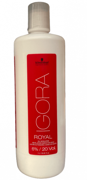 Schwarzkopf Igora Royal Oil Developer Lotion 6% Liter