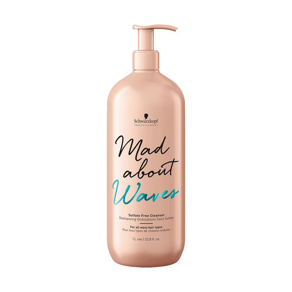 Schwarzkopf - Mad About Waves - Sulfate-Free Cleanser - Liter